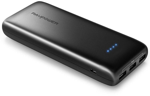POWERBANK RAVPOWER RP-PB052 capacity 22000 mAh for smart phones and tablets, 3 port with ISMARTPOWERBANK RAVPOWER RP-PB052 capacity 22000 mAh for smart phones and tablets, 3 port with ISMART