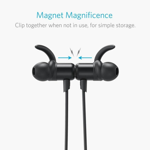 Anker SoundBuds Slim Wireless Headphones, Bluetooth 4.1 Lightweight Stereo Headset
