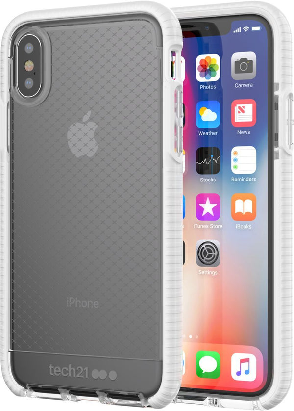 Tech21 Evo Check for iPhone X - ClearWhite