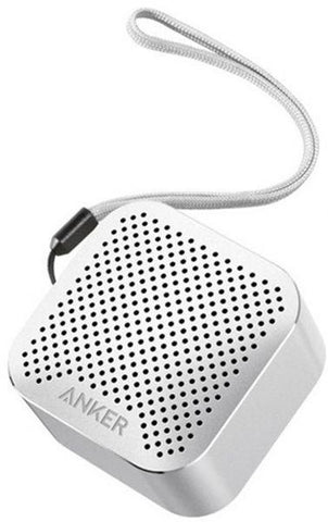 Anker SoundCore Nano Bluetooth Speaker for Bluetooth Enabled Devices - Silver - A3104H43
