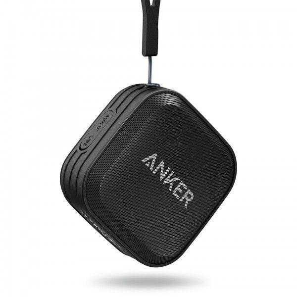Anker SoundCore Sport Portable Bluetooth Speaker for Bluetooth Enabled Devices - Black - A3182H11