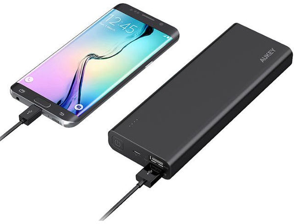 Aukey 20100mAh Quick Charge 3.0 Power Bank - Black