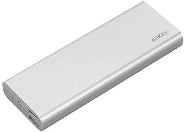 Aukey 20100mAh Quick Charge 3.0 Power Bank - Silver
