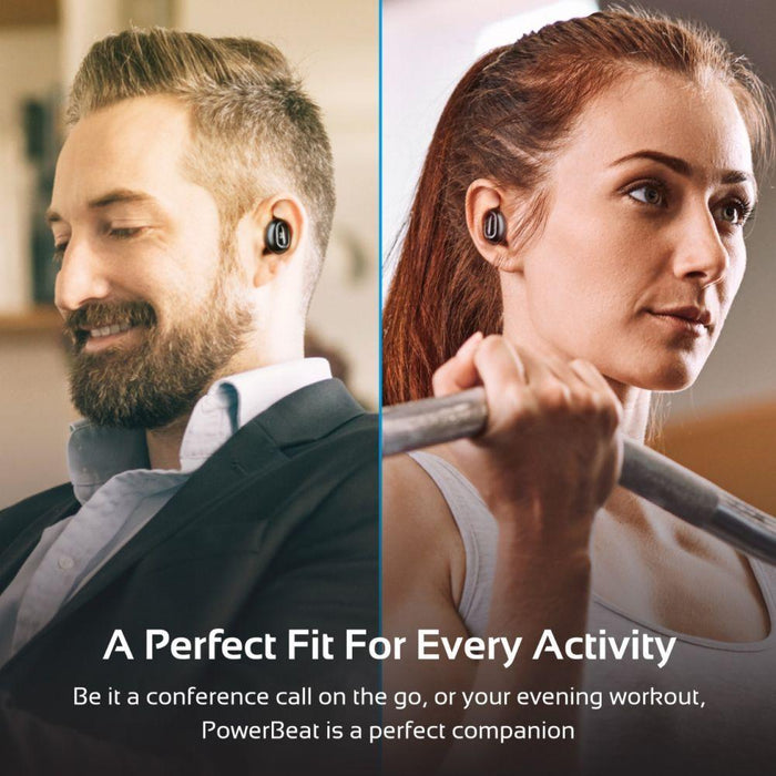 Promate True Wireless Bluetooth Headset with Power Bank, True Wireless Headset with Built-In Mic