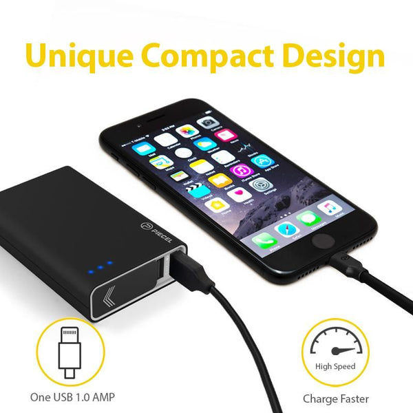 Power bank 10050 mAh Dual Port QC3.0 Water resistant Black
