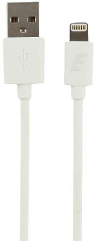 Energizer 2 Meter Hightech USB Lightning Round Cable - White