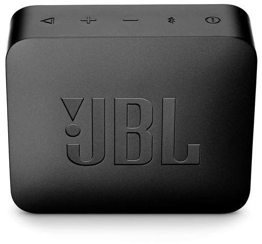 JBL GO 2 Portable Bluetooth Speaker, Black - JBLGO2BLK