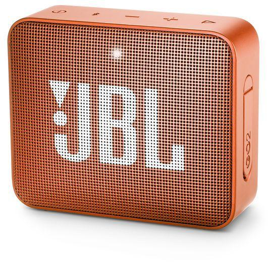 JBL GO 2 Wireless Portable Speaker - Coral Orange