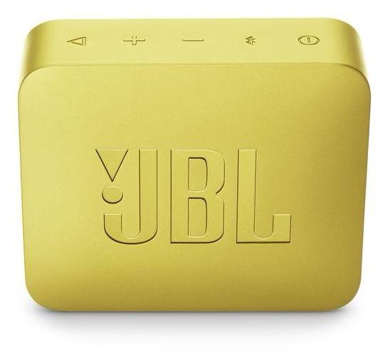 JBL GO 2 Portable Bluetooth Speaker, Sunny Yellow