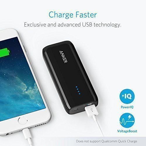 Anker 6700mAh Astro E1 Wired Power Bank for Mobile Phones - A1211H15