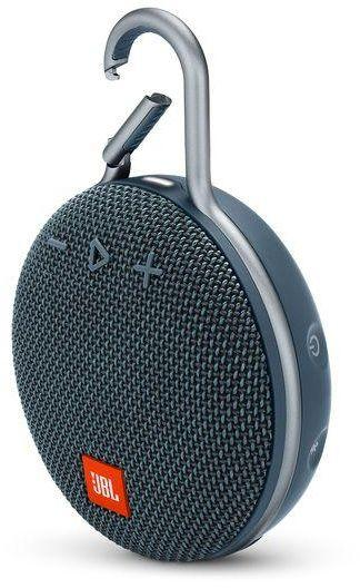 JBL Harman CLIP 3 Wireless Portable Speaker - Blue