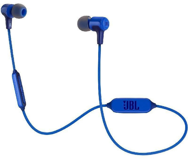 JBL E25BT, In-Ear Headset, Bluetooth, In-line Microphone, Blue