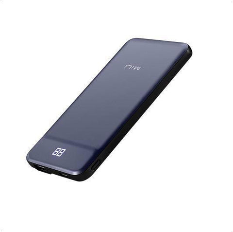 Mili MiLi Power Nova III , Wired Power Bank 10000mAh - Blue