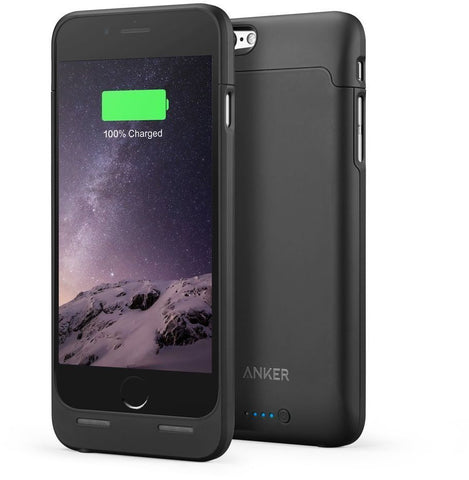 Anker 2850mAh Ultra Slim Battery Case for iPhone 6/6s - Black, A1405011