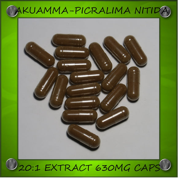 Akuamma Seed Extract 20:1 (Capsules)