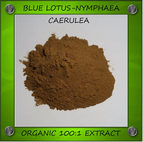 Organic Blue Lotus 100:1 Extract