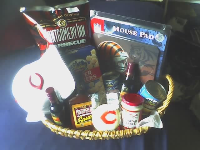 Cincinnati Sports Geek Gift Basket