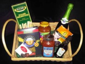 Italian Delight Gift Basket
