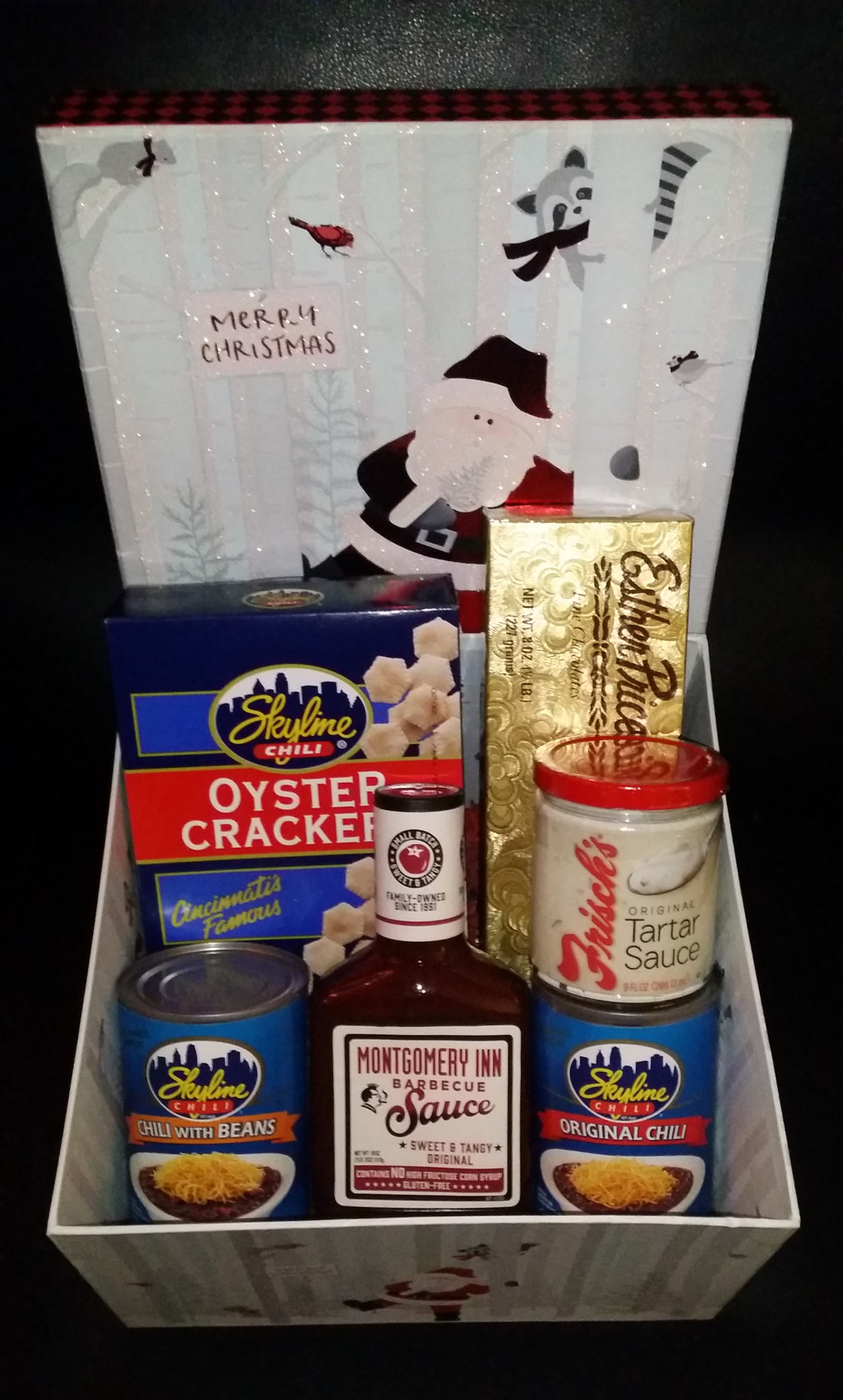 Cincinnati Skyline Christmas Goody Box!
