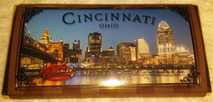 Graeter's chocolate bar Cincinnati-themed wrapper
