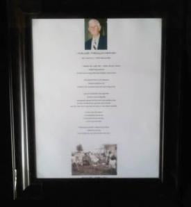 Custom Poetry Gift black frame 2