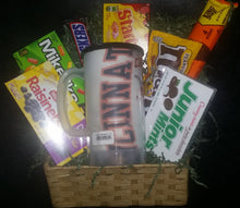 Load image into Gallery viewer, Cincinnati SWEETS, MUG & T-SHIRT Gift Basket