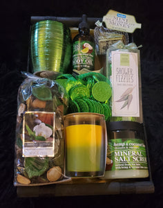 Wealth and Abundance Spa Gift Basket