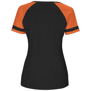 LADIES BENGALS V-Neck Top - Cincinnati Bengals black