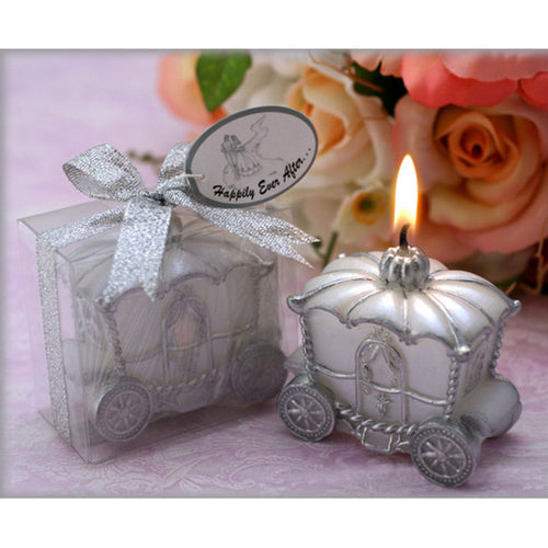 Scented Candle Creative Design Pumpkin Carriage Car Shape Candle