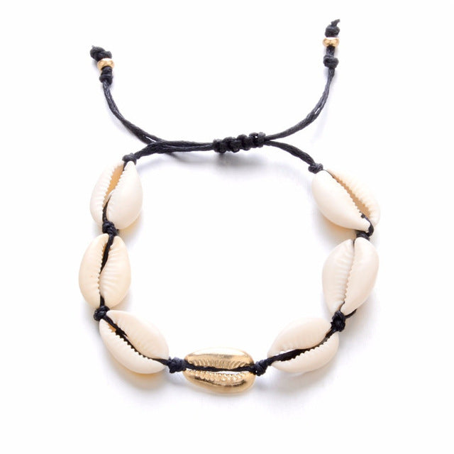 Bohemian Sea shell Choker Necklace For Women Collar Conchas Cowrie Shell Vsco Necklace Girls Summer Jewelry collier femme 2019