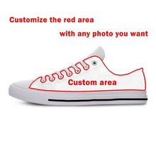 Load image into Gallery viewer, Bengals Lightweight Fashion Men/Women Casual Shoes Breathable Flat Canvs Sneakers