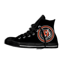 Load image into Gallery viewer, Cincinnati Bengals Lightweight High Top Shoes Men/Women Cincinnati Football Fans
