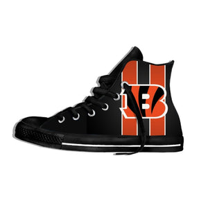 Cincinnati Bengals Lightweight High Top Shoes Men/Women Cincinnati Football Fans