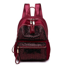 Load image into Gallery viewer, GLITTER BACKPACK, women's backpack with sequins