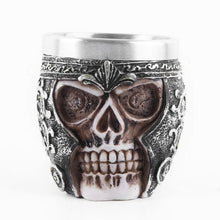 Load image into Gallery viewer, skull coffee mug