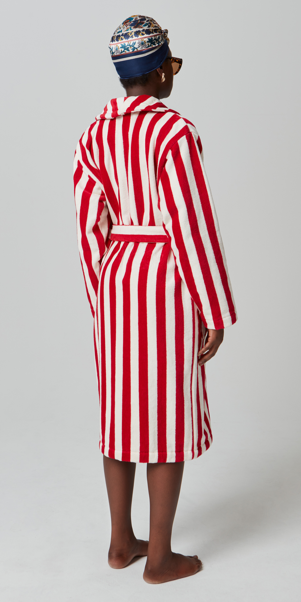 Roy Stripe Red & White