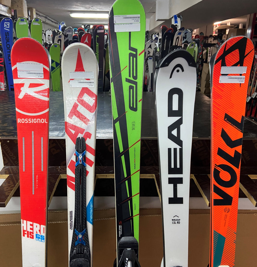 Top collection of race skis