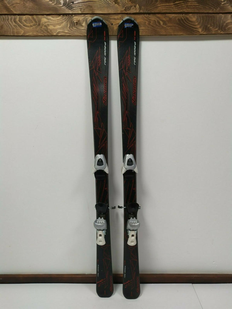 Nordica Fire Arrow TM 140 cm Ski + Salomon N L9 Bindings Winter Sports Outdoors
