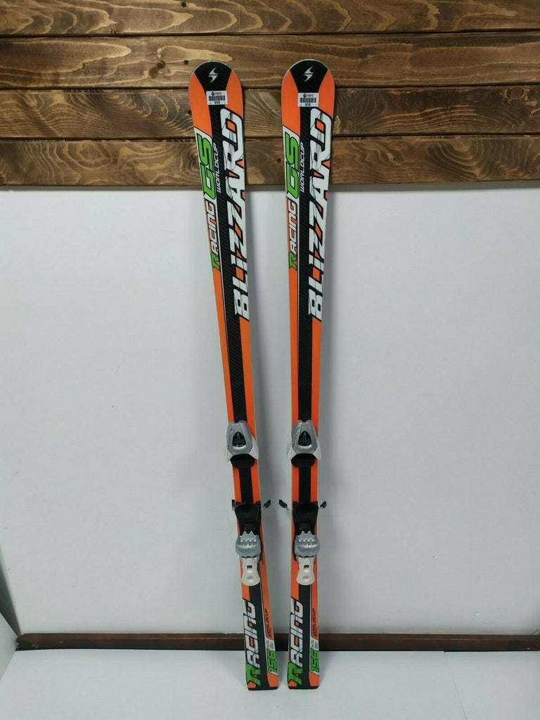 Blizzard Race GS World Cup 156 cm Ski +  Salomon L39 Bindings Winter Sport Snow