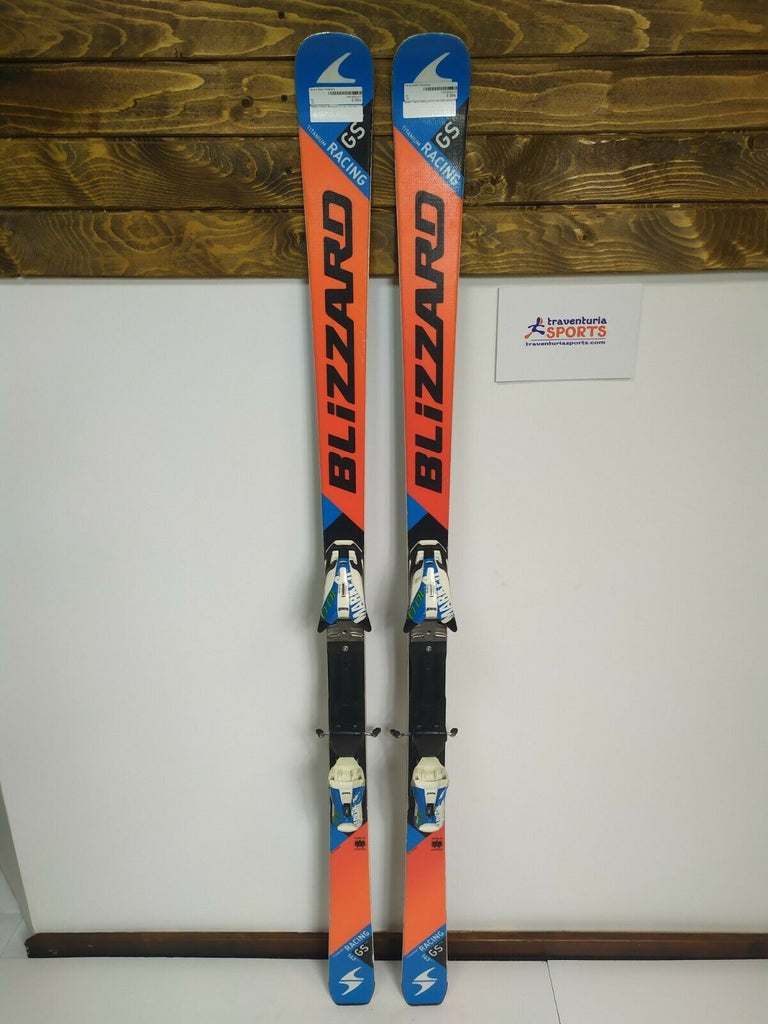 Blizzard Racing GS FIS 163 cm Ski + Marker 10 Bindings Winter Snow Sport