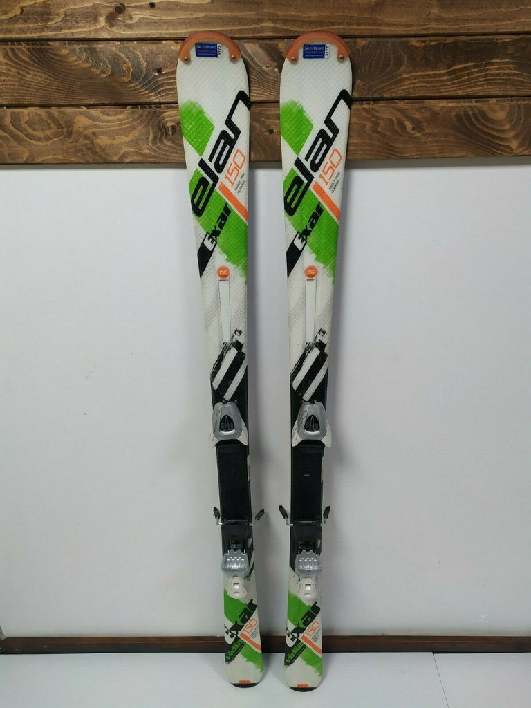 Elan Exar Vidia 150 cm Ski + BRAND NEW Salomon N L9 Bindings Winter Sports Fun