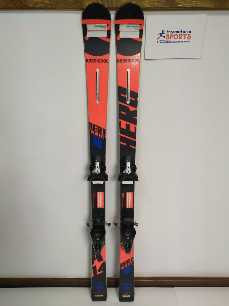 Rossignol Hero Athlete GS Pro 135 cm Ski + BRAND NEW Tyrolia SX10 Bindings Fun