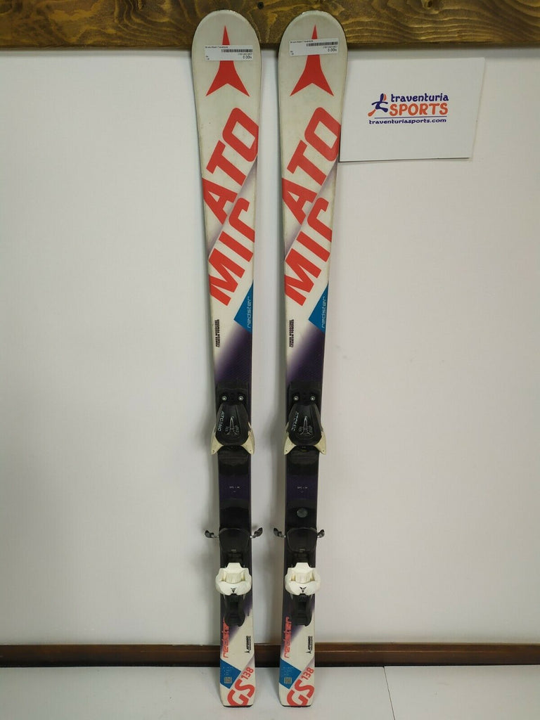 Atomic Redster GS 138 cm Ski + Atomic 7.5 Bindings Winter Fun Sport Outdoor
