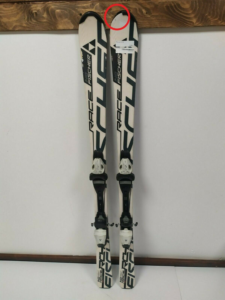 Fischer Race 145 cm Ski + Fischer 7.5 Bindings Winter Sports Downhill Fun CBS