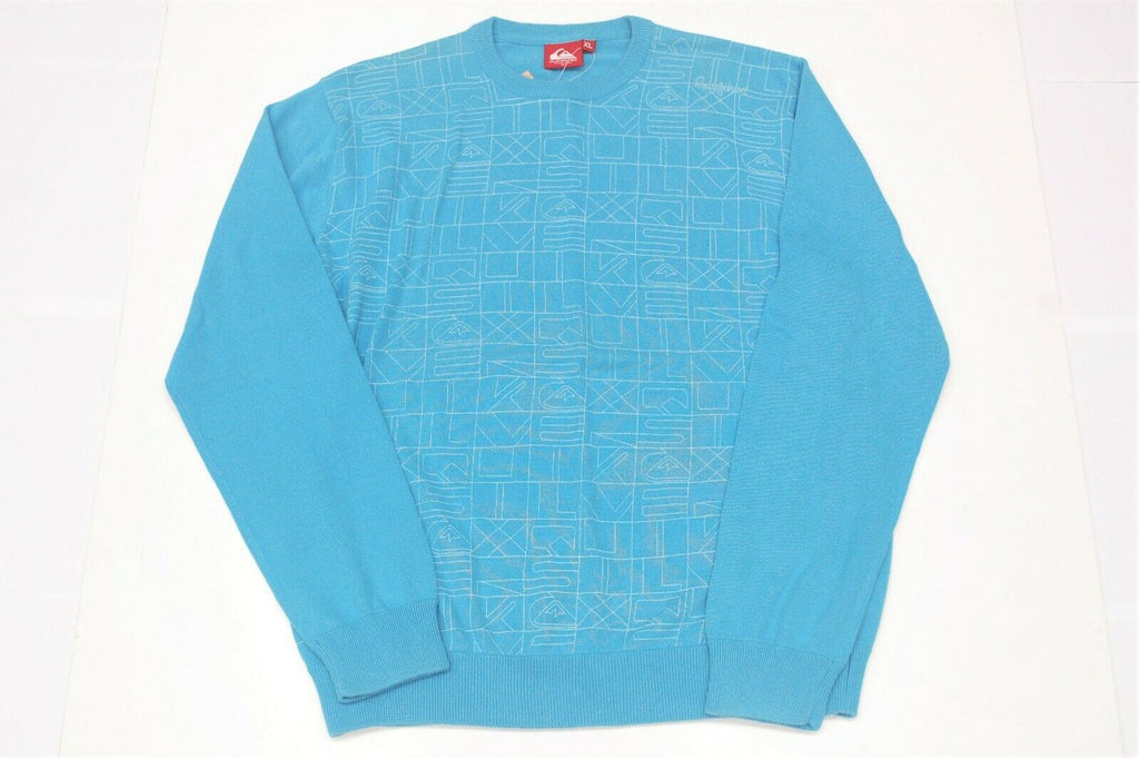 Quiksilver Men Sporty Trendy Soft Knitted Rare XL BRAND NEW Sweater