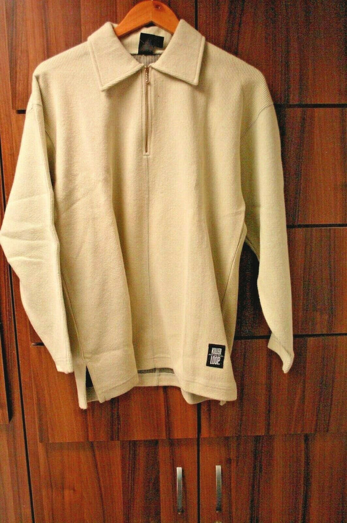 KILLER LOOP Cotton 1/2 Zip Rare Winter Sports Warm Snowboard Sizes S L BRAND NEW