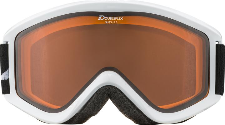 High-quality Alpina goggles, displaying the same high quality as all other Alpina gear.  Airholes for breathable face ventilation  Adaptable side strap  Lens: cylindrical lens, Hicon  100% UVA, UVB and UVC protection, Anti-fog coating  Protection class: Protection class 2 Frame: Full rim, simple foam padding