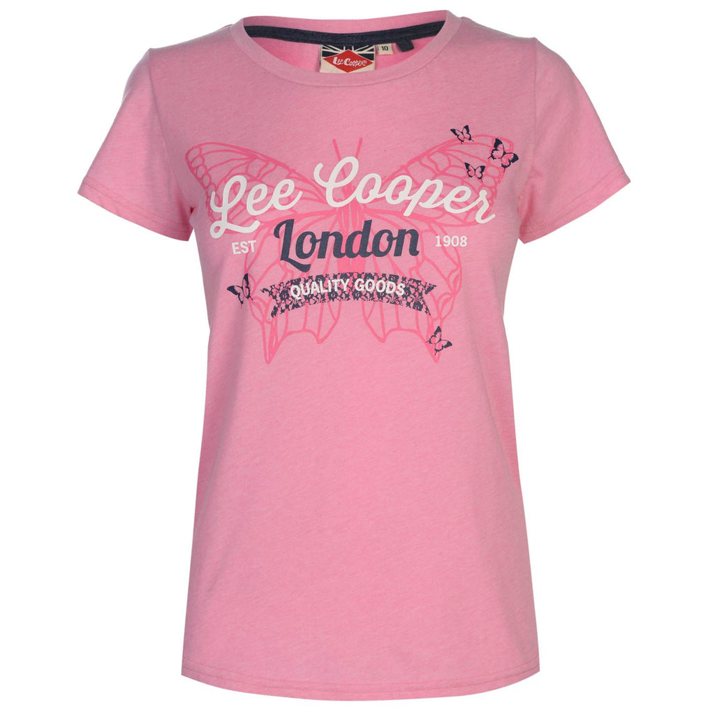 Lee Cooper Fashion Tee Lds90 T-Shirt