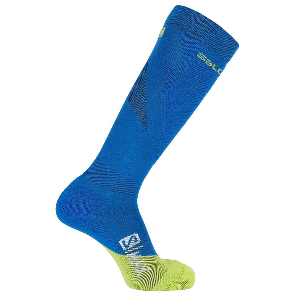 Salomon Max Ski Socks 1 Pair Blue