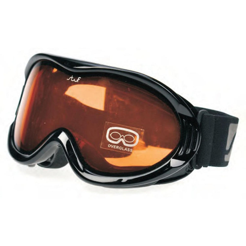 Stuf Spectral Black Ski Googles